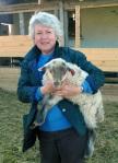 Mamma og et lam :-)